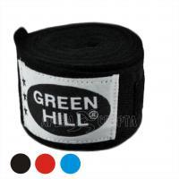 Бинт боксерский , 2,5м, х/б, Green Hill BC-6235a