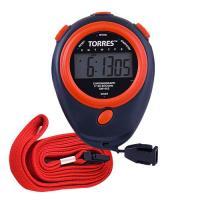 """Секундомер """"TORRES Stopwatch"""", арт.SW-002, часы, будильник, дата, шнур с карабином, черно-красный"""