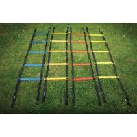 "Лестницы для трен. ""MITRE"" арт. A4003AAA, КОМПЛ.4 шт, кажд. дл.2 м, пластик,полиэстер,мультикол-чер"