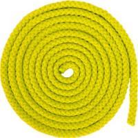Скакалка гимнастическая 3м 165гр желтая  AB255