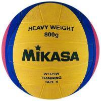 """Мяч для водного поло """"MIKASA WTR9W"""" р.4, жен, резина, вес 800 г, дл.окр. 65-67см,желто-сине-роз"""