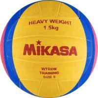 """Мяч для водного поло """"MIKASA WTR6W"""" резина, муж. размер, вес 1500 г, жел-син-роз"""