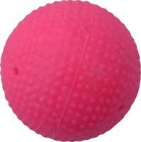 Мяч для хоккея на льду I.V.P, арт.MR-MH, FIB Appr,пластик/дерево, ярко-малиновый