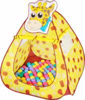Игровой домик Ching-Ching Жираф CBH-11 + 100 шариков, фото