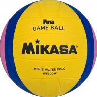 """Мяч для водного поло """"MIKASA W6000W"""" FINA Approved, муж. размер, резина,  желт-сине-розовый"""