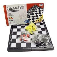 Игры 3 в 1 (шашки, шахматы, нарды магнитные)