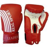 Перчатки боксерские LEADER  6 унций, красный