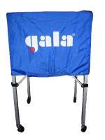 """Тележка для вол. мячей """"GALA"""" арт. 2331082/XX41009, 25-30 шт, дл.67см, гл.45 см, выс.103 см, бел-син"""