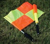 """Флаги для боковых судей """"MITRE"""" арт.A3069AAA,алюм. древко,нейлон,комплект из 2 шт. (красн., желт.)"""