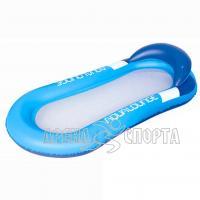 Надувной шезлонг для отдыха на воде 160х84см
