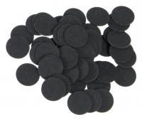 Фибра упаковка 50 шт. (чёрная, 1 мм, н/д 14мм)