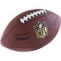 "Мяч для ам. футбола ""WILSON Duke Replica"" арт.WTF1825, синт. кожа PU, бут. камера, руч. сшив, корич."
