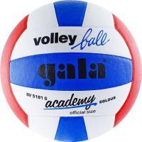 "Мяч вол. ""GALA Academy"" арт. BV5181S, р. 5, синт. кожа ПУ, клееный, бут. кам, бел-син-красн"