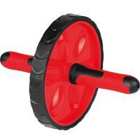 """Ролик гимнастический """"TORRES"""" арт.PL5012, металл, пластик, нескользящий протектор, крас-черн"""