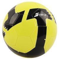Мяч футбольный для отдыха Start Up E5120 лайм/чёрн р5