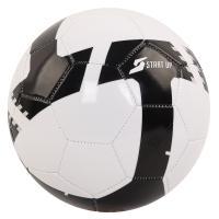 Мяч футбольный для отдыха Start Up E5120 бел/чёрн р5