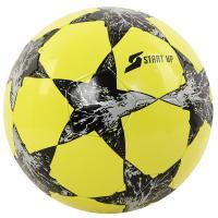 Мяч футбольный для отдыха Start Up E5121 лайм/чёрн р5
