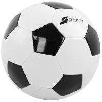 Мяч футбольный для отдыха Start Up E5122 бел/чёрн р5