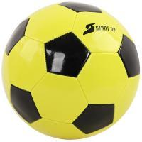 Мяч футбольный для отдыха Start Up E5122 лайм/чёрн р5
