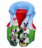 """91030 Жилет детский надувной для плавания """"Микки"""" 51х46 см"""