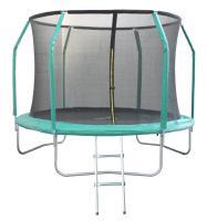 Батут 10FT 3,05м с защитной сеткой (внутрь) с лестницей GB102011-10FT