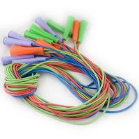 Скакалка, арт.MR-Sk2.65, цветная, 2,65м, d 5мм, резин.пластикат,пластик.ручки