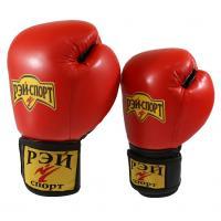 Боксерские перчатки 10oz лБ52LИ10 р.L красн.
