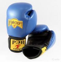 Боксерские перчатки 10oz лБ52LИ10 р.L син.