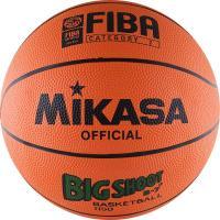 "Мяч баск. ""MIKASA 1150""  р.7, резина, FIBA II категории, бут.кам, нейл.корд, оранж-чер"