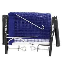 Сетка для наст. тенниса Stiga Champ, арт.6360-00 в компл. с мет. стойками, синяя