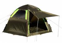 Летняя палатка-шатёр Лотос 5 Мансарда (2021), фото