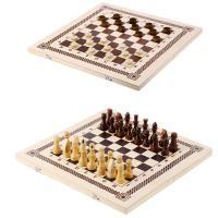 Набор 2 в1 (шашки,шахматы), 40*20*4 см, B-6