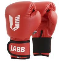 Перчатки бокс.(иск.кожа) Jabb JE-2021A/Basic Jr 21A красный 4ун.