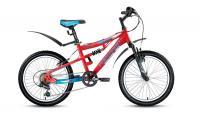 Велосипед FORWARD 20 BURAN 1.0 ДвухПодвес 6ск