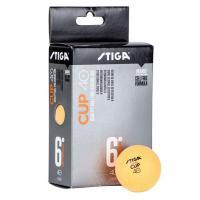 1110-2503-06 Мячи STIGA Cup ABS 6шт 40мм (оранжевый)