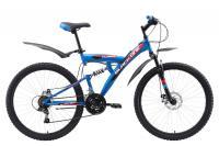 Велосипед Black One Flash FS 26 D