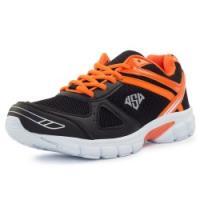 полуботинки кроссовые Fred 47592A11  black/orange