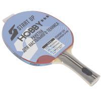 ракетка для н/т Start Up Hobby 3Star (9881) (прямая ручка)