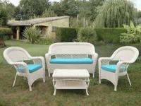Комплект мебели из иск.ротанга LV130 White