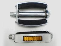 Педаль отеч. резьба металло-резиновая овальная