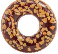Круг для плавания «Пончик», шоколадный