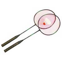 Набор для бадминтона (2 ракетки, волан, чехол-сетка)