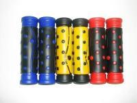 Ручки на руль резиновые 2661-11 в точку (2 цвета) 120 мм