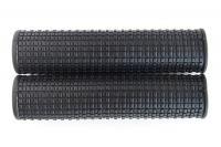 Ручки на руль резиновые 2661-26 мелкий шип 120 мм