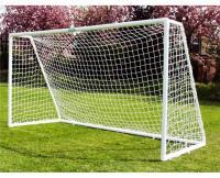 Сетка футбольная нить 2,2мм (2,5Х7,5Х1Х2м), 2шт. белый 1022