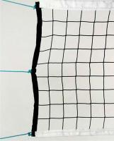 Сетка волейбольная нить 2,9 мм, с тросом 3мм 5029-03