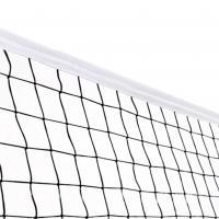 Сетка волейбольная нить 3,5 мм, с тросом 5мм 5035-03 (черный)