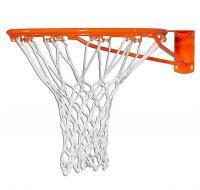 Сетка баскетбольная нить 4 мм, белая 9040