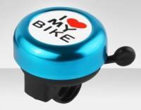Звонок 3035-13 металл. I love my bike